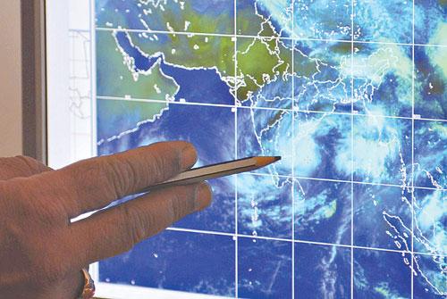 الأرصاد: عاصفة مدارية جنوب العرب