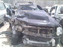إصابة ثلاث معلمات ووفاة السائق