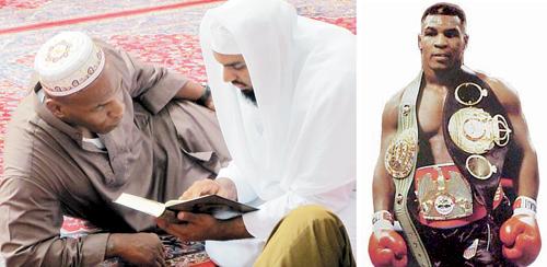 تايسون.. «شراسة الحلبات» طمأنينة القرآن