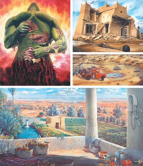 إبراهيم الزيكان فنان الواقعية وعاشق