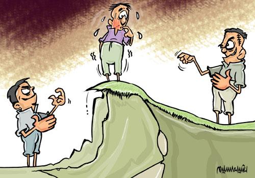 كاريكاتير كاريكاتير كاريكاتير الاربعاء 1432/6/22 slim.jpg