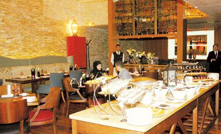 مطعم لاكوتشينا في الرياض