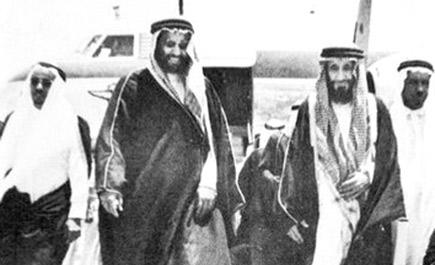 رجال حول الملك عبدالعزيز الذراع الأيمن للمؤسس وأصغر المشاركين سنا في فتح الرياض