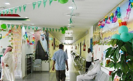 مستشفى العام يتحول للون الأخضر ln_145_1.jpg