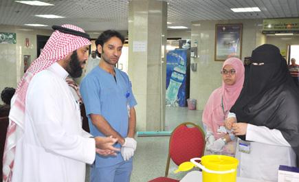 مستشفى الولادة ببريدة يشارك «يوم ln_215_1.jpg