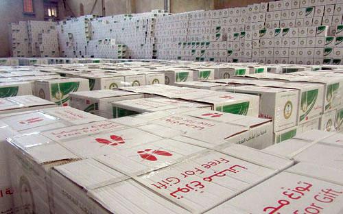 الحملة الوطنية السعودية لنصرة الأشقاء في سوريا تبدأ مرحلة التوزيع الثانية في تركيا