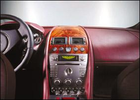 أستون مارتن سيارة الرفاهية العالية