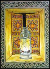 فنون النقش الشعبية من الأبواب والجدران إلى اللوحة التشكيلية