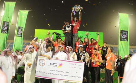 الف مبروك لنادي الشباب البطولة