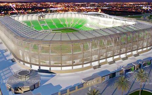تكلفة ملعب جامعة الملك سعود والمركز الأولمبي 400 مليون ريال