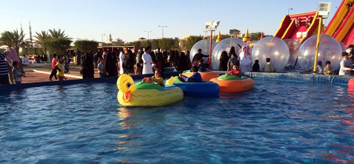 مهرجان عيون الجواء يشهد إقبالا كبيرا