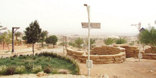 استكمال 90 % من مراحل إنشاء منتزه الملك سلمان البري