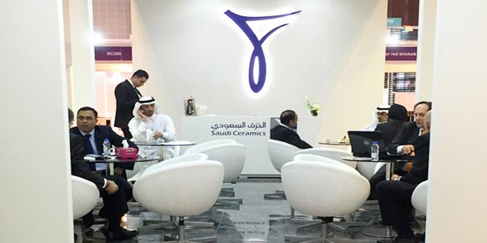 الخزف السعودي تشارك في معرض الكبار الخمسة في دبي