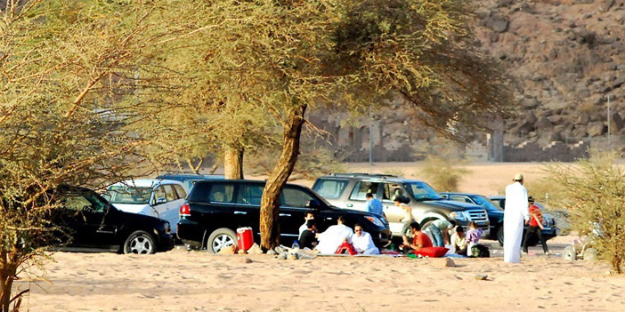 جولة مصورة في منتزة عسيلان في بريدة بالقصيم