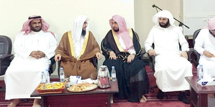كتابة عدل الأولى جنوب الرياض تقيم حفل معايدة