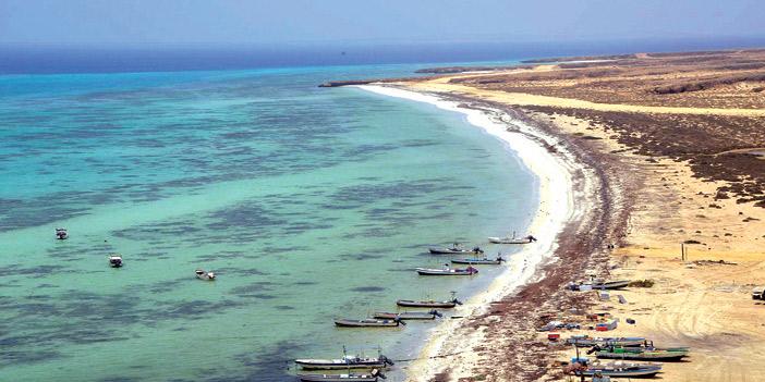 جزر فرسان سحر الطبيعة