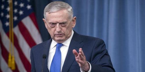 ماتيس: نقف في وجه إيران ولن نتجاهل محاولات تطوير برنامجها ...