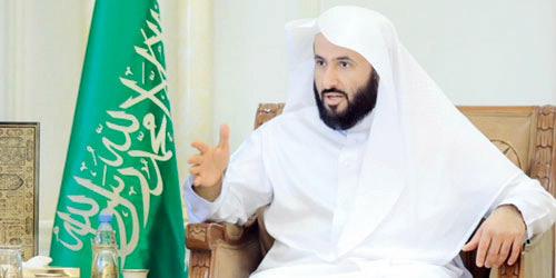 وزير العدل يوجه بالتوسع في خدمات كتابة العدل الثانية في شمال الرياض