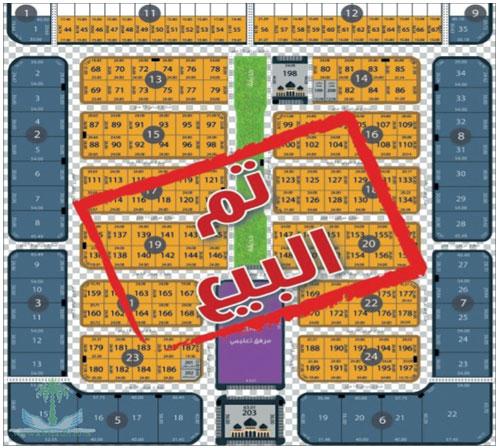 عجلان وإخوانه تنهي البيع في مخطط رياض النرجس في وقت قياسي