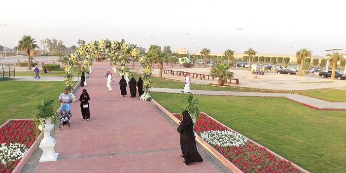 إنجاز 90 % من تطوير منتزه الملك فهد بالدمام