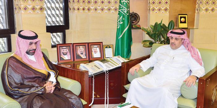 د السديري استقبل الرئيس التنفيذي للهيئة الملكية لمدينة الرياض